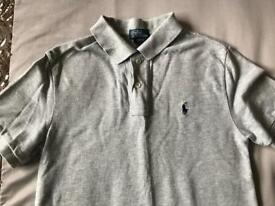 Ralph Lauren Polo Shirt Light Grey
