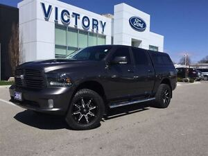 2015 Ram 1500 Sport, Navigation, Sunroof, LOADED