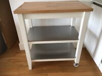 Table for kitchen or storage