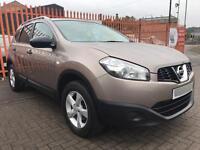 2010 (60) Nissan Qashqai +2 1.5 DCI Visia / 101k FSH / 1 Owner / 12 Months MOT / 6 Months Warranty