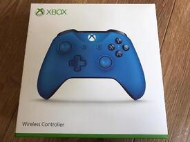 Latest Xbox one controller in blue