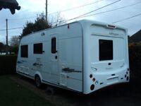 Elddis Ashington GTS / 4 Berth Caravan / Special Edition 2007