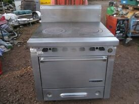 Garland commercial hotplate / oven natural gas