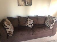 4 Piece Used DFS Sofa Suite