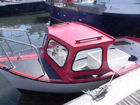 Plymouth Pilot Boat 16ft Long Fibrelglass