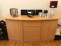 Solid beech sideboard immaculate condition £100