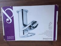 Cooke & Lewis Saverne 1 Lever Basin Mixer Chrome Tap Bathroom Faucet Brass New