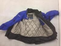 Frank Thomas size14 bike jacket with CE armour&adjustable for perfect fit