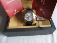 Tudor Sport Chronograph 20300 with Box and Papers.