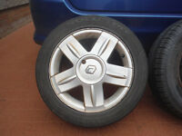 Renault Clio Alloy Wheels 185/55 15 - Sold Individually