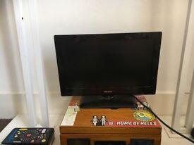 """19"""" flat screen tv"""