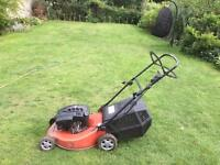 MOUNTFIELD RM65 200cc PETROL LAWN MOWER WITH GRASS COLLECTION BOX