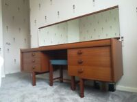 Midcentury Teak Desk / Dressing Table By White And Newton 1960/70