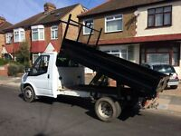 FORD TRANSIT t350 2.4 DIESEL TIPPER TRUCK 2007 57-REG FULL SERVICE HISTORY DRIVES EXCELLENT