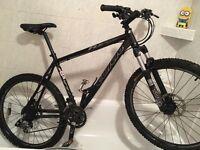 Carrera mountain bike. £150