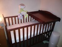 Cot+ double airflow mattress and top changer