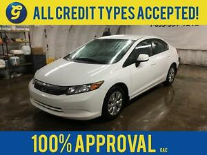 2012 Honda Civic LX*LX*BLUETOOTH HANDSFREE*POWER WINDOWS*ECO MOD