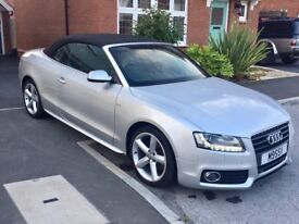 Audi A5 2.0 TDI S-Line Convertible (Start stop edition)