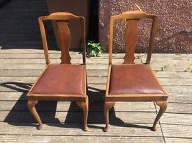Dinning chairs set of 6.