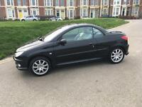 2006 06 Peugeot 206cc 1.6 only 64000miles