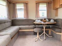 Cheap Static Caravan With Brand New Decking For Sale At Sandylands Ayrshire Near Craig Tara