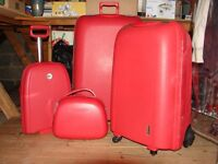 Redolz abs travel suitcases