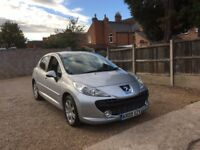 PEUGEOT 207 1.6 HDI SPORT, 1 PREVIOUS OWNER, FULL SERVICE HISTORY, FULLY SERVICE,2 KEYS, DRIVES WELL