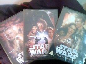 Star Wars episodes 1-3