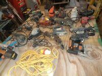 diy/grinders drills/ sanders/ jig saws. 110v &240v seconhand &new