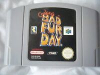 Conkers bad fur day n64 game