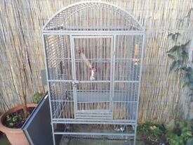 2 X PARROT CAGES FOR SALE.