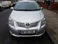 2009 TOYOTA AVENSIS T4 TOURER 2.2 DIESEL (FULL LEATHER, HIGHLY MAINTAINED) READY TO DRIVE AWAY