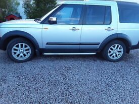 57 plate land rover discovery 3