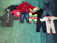 Next baby boy clothes bundle 6-9 months