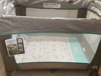 Bright starts Ingenuity travel cot