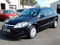 2008 Vauxhall astra estate only 75000 miles, motd sept 2017, service history all cards welcome