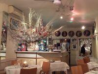 Kitchen Porter required. Cercasi per un Lava Piatti per ristorante Italiano in West London