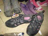 Size 6 womens [used] footwear bundle
