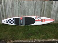 Red Paddle ELITE 12' 6 x 26 2014 Inflatable stand-up paddle board, NEW still in the box for sale