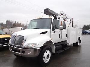 2003 International 4300 Mobile VACIS V75 Service Truck Dually Di
