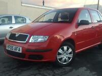 2005(05) SKODA FABIA CLASSIC HTP 1.2 PETROL RED 5 DOORS HATCHBACK*P/X CLEARANCE ONLY*SPEAR & RAPIER