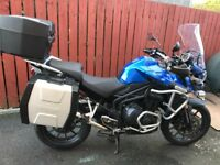 triumph Tiger Explorer 1215, 2012 full luggage