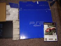 PLAYSTATION 2 FULLY BOXED WITH GAME