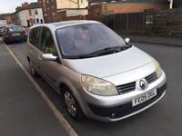 RENAULT SCENIC 1.5 DCI 12 MONTHS MOT 7 SEATER