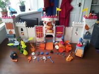 Imaginext Castle with figures and vehicles