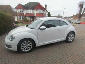 VW BEETLE 1.2 TSI BMT DESIGN 2015 AUTO SAT NAV PARKING SENSORS 19,448 MILES