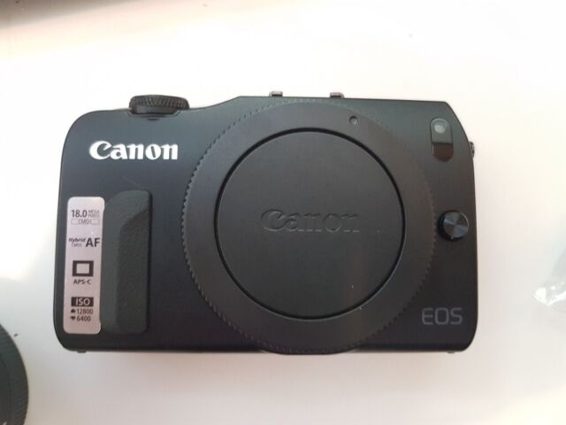 Canon EOS M with EF lens adapter and accessories | in London | Gumtree