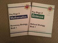 5 Key Stage-3 work books