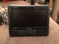 """SOVOS 7"""" Portable Digital TV with pause & record functions"""