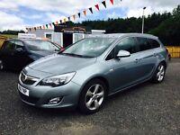 2011 Vauxhall Astra sri, 12 months Warranty, 2 years MOT, finance available